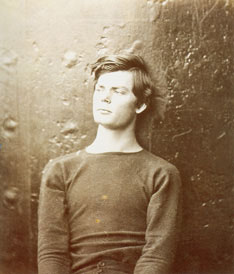 Alexander Gardner.   Lewis Payne before his Execution.1865