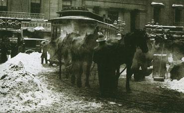 Alfred Stieglitz. The Terminal, NY, 1892.