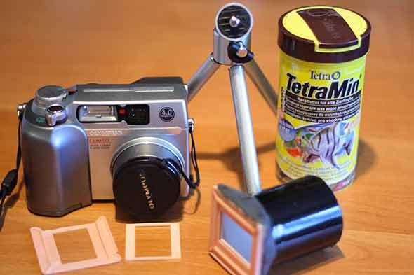 Как с негатива сделать цифровое фото